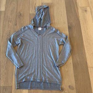 Cabi hooded sweatshirt blue xs